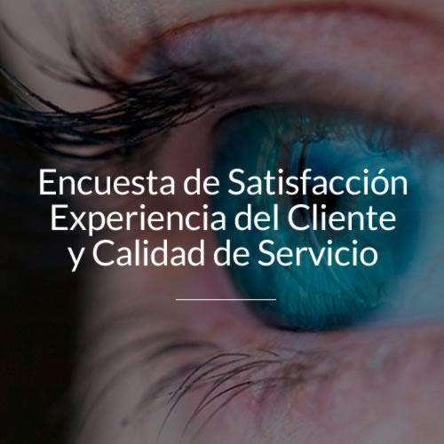 encuensta de satisfaccion experiencia del cliente y calidad de servicio