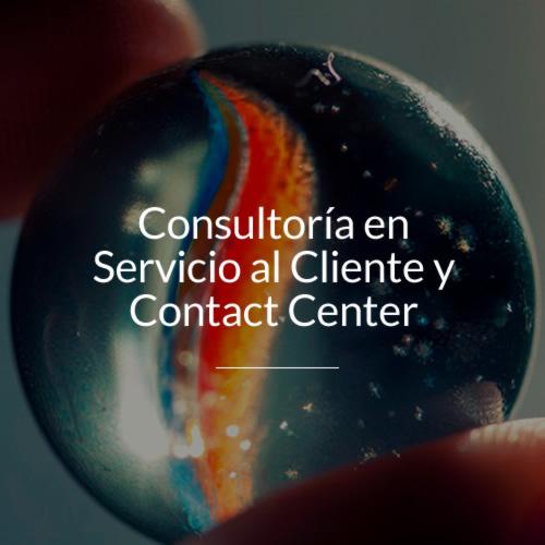 consultoria en servicio al cliente y contact center